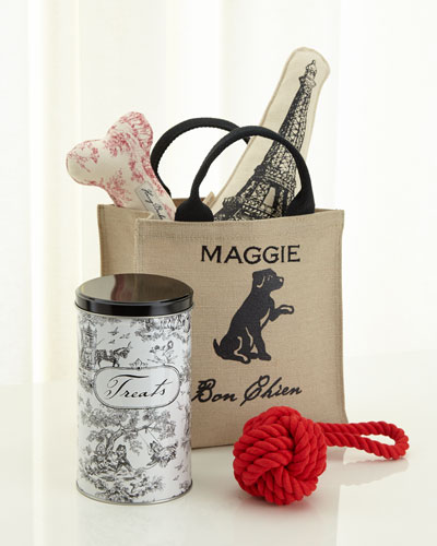 Harry Barker Personalized Parisian Tote Gift Set