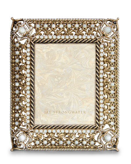Jay Strongwater 20th Anniversary Jay\'s First Picture Frame | Neiman ...