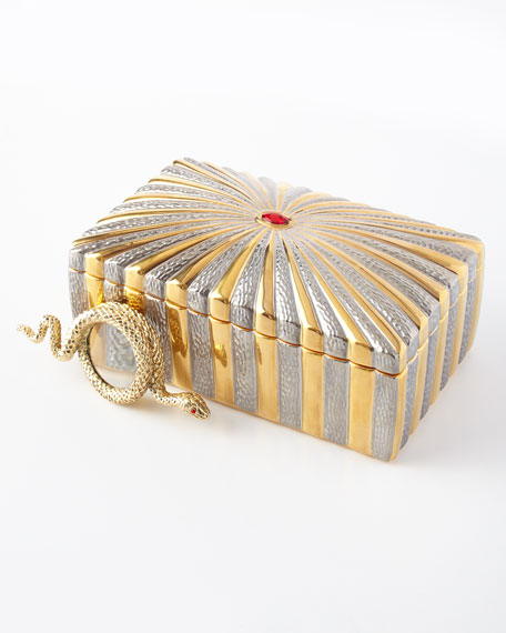 Voyage d'Or Rectangular Box