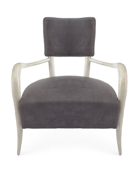 Belle Star Leather Chair