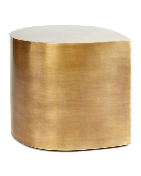 Jonathan Adler Brass Teardrop Table