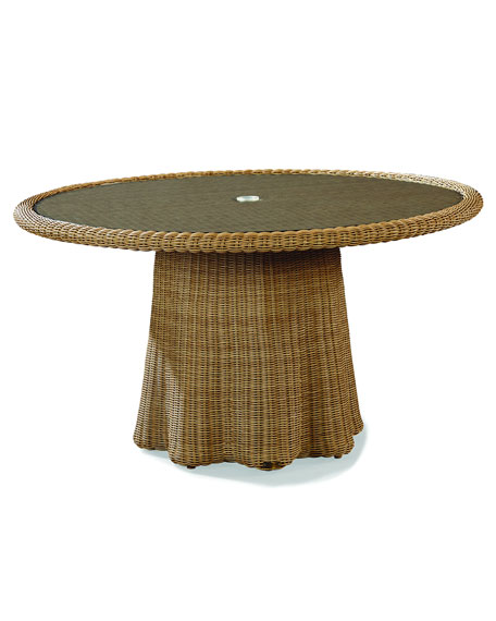 Crespi Wave Round Dining Table