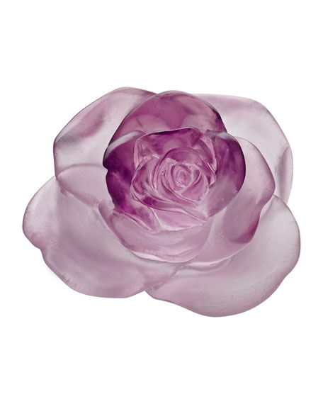 Daum Rose Passion Pink Flower