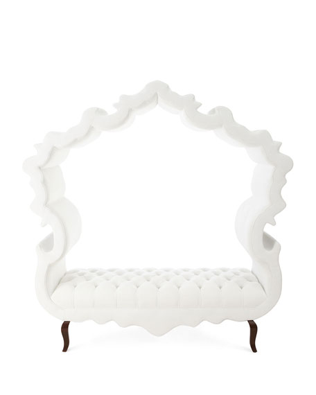 White Thebes Bench