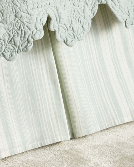 Amity Home Queen Aiden Stripe Dust Skirt