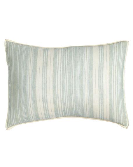 """Amity Home Aiden Stripe Pillow, 14"""" x 20"""""""