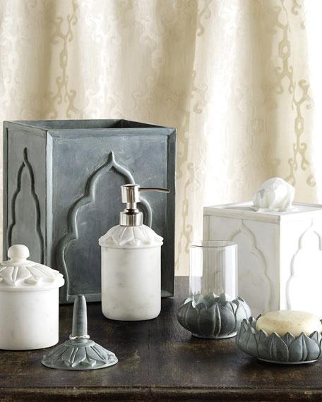 Lotus Covered Jar
