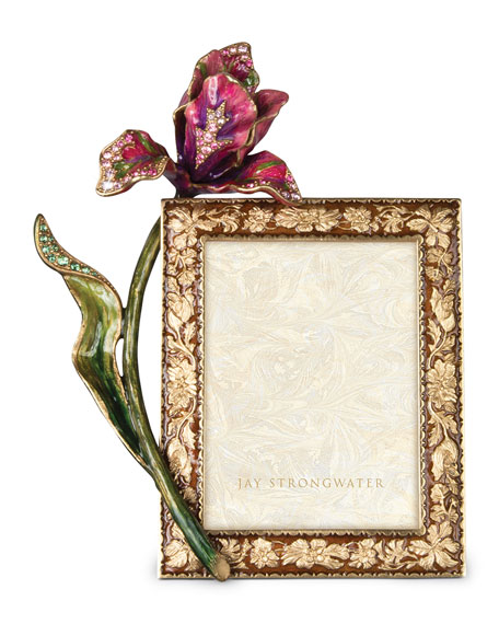 "Brocade Floral 3"" x 4"" Picture Frame"