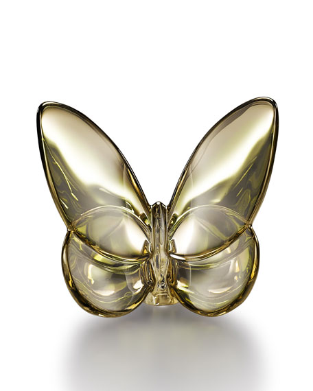 Baccarat Golden Lucky Butterfly