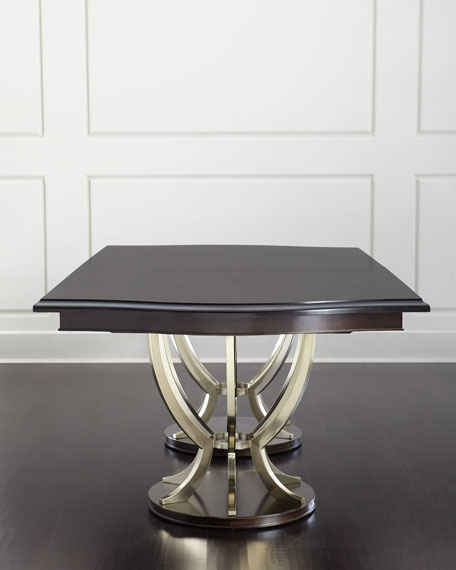 Bernhardt Lambert Double-Pedestal Table
