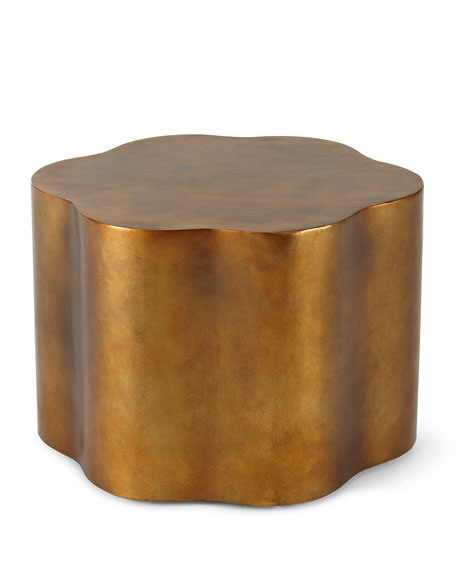 Image 3 of 3: Orla Copper Accent Table