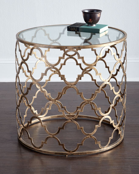 Image 1 of 2: Susie Fretwork Side Table