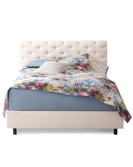 Valentine Tufted King Bed