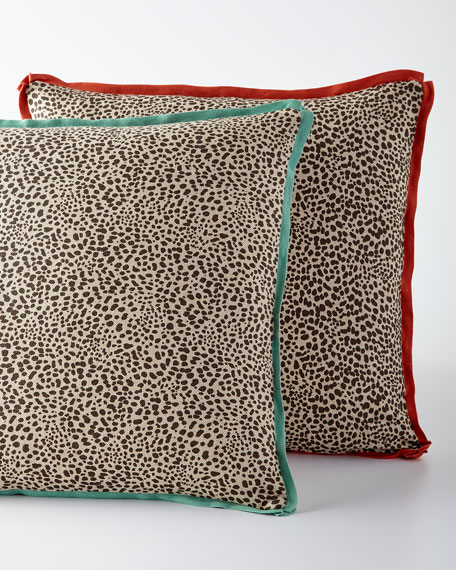 Lacefield Designs Animal-Print Pillow, 20