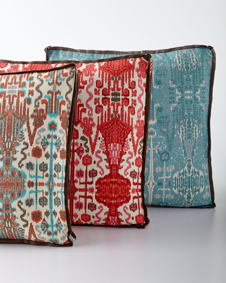 Lacefield Designs Bombay Ikat Pillow, 24