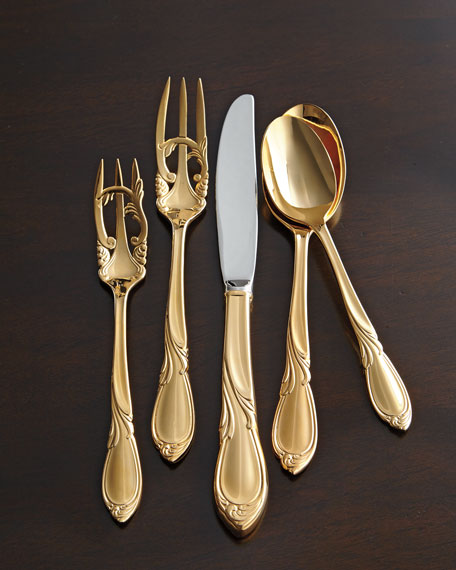 Yamazaki Tableware 20-Piece 24-Kt. Gold-Plated Cache Flatware
