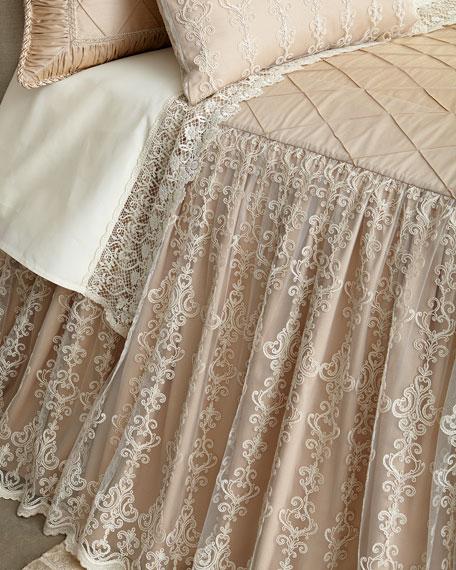 Sweet Dreams Queen Elizabeth Skirted Coverlet