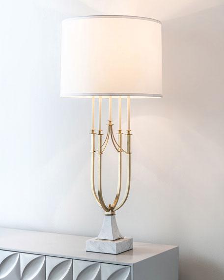 John-Richard Collection Candlestick Centerpiece Lamp