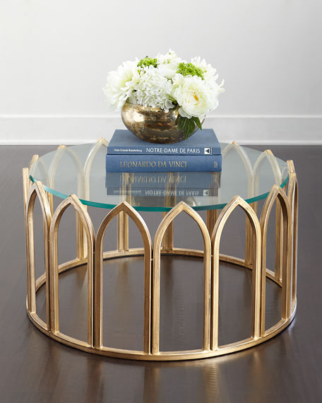 Thames Glass-Top Coffee Table