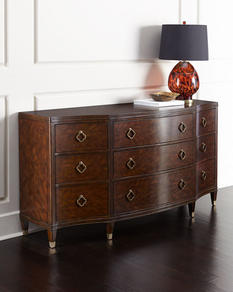 Hooker Furniture Bernadino Nine-Drawer Dresser