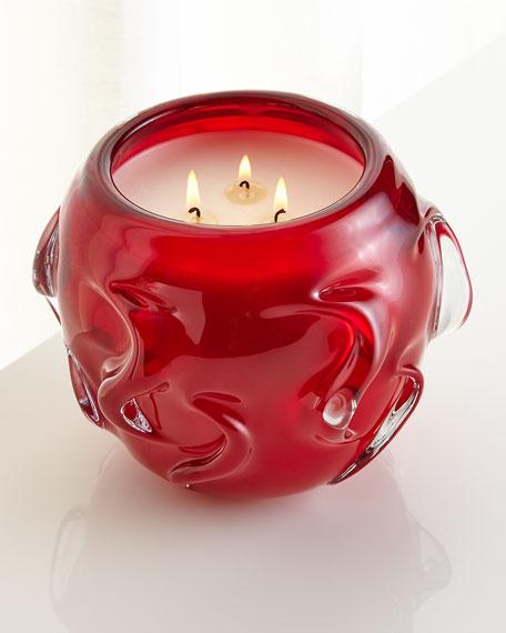 D.L. & Company Vetri D'Arte Rosso Candle