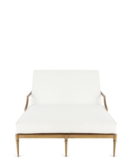 Sophia Outdoor Double Chaise