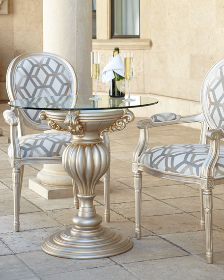 Empire Outdoor Dining Chair & Bistro Table