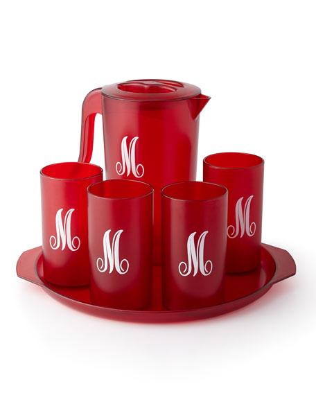 Monogrammed Beverage Set