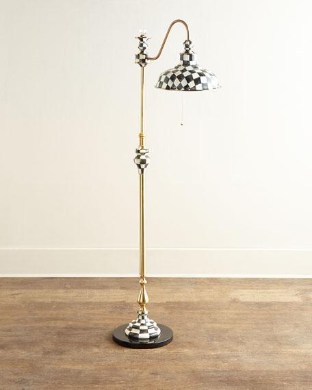 Courtly Farmhouse Floor Lamp