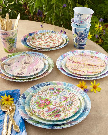 Neimanmarcus Paris Market Medium Plates, 4-Piece Assorted Set