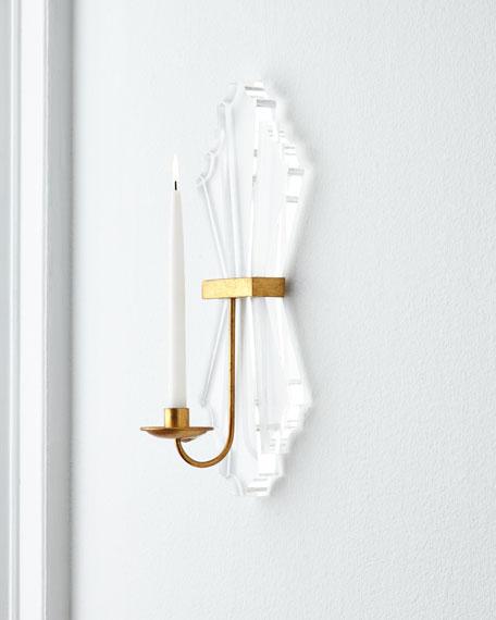 Acrylic Candle Sconce Neiman Marcus