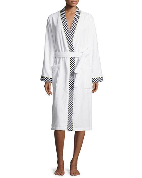 MacKenzie-Childs Courtly Check Medium Robe