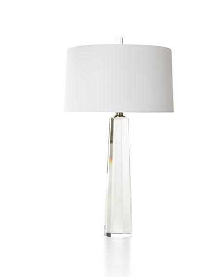 Crystal Prism Table Lamp