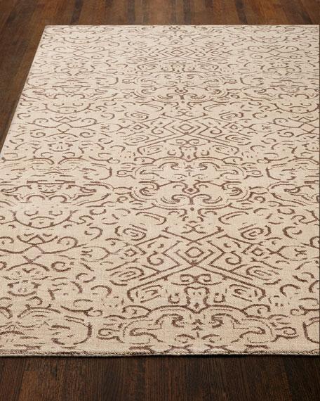 Etched Geometric Rug, 10' x 14'