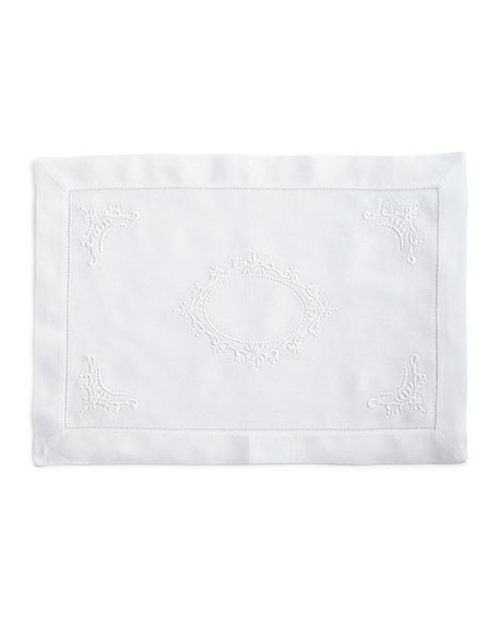 Boutross Imports Italian Crest Placemats, Set of 4