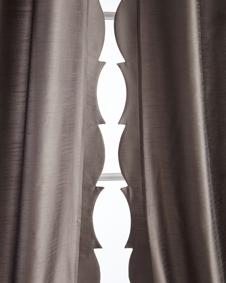 "Pair of 50""W x 108""L Juliana Curtains"