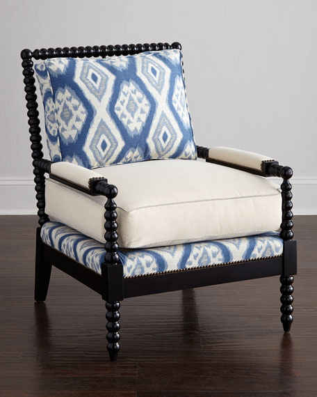 Old Hickory Tannery Royal Spindle Chair Neiman Marcus