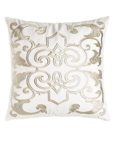 """Mozart Pillow, 24""""Sq."""