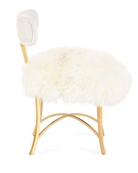 Swanson Sheepskin Side Chair