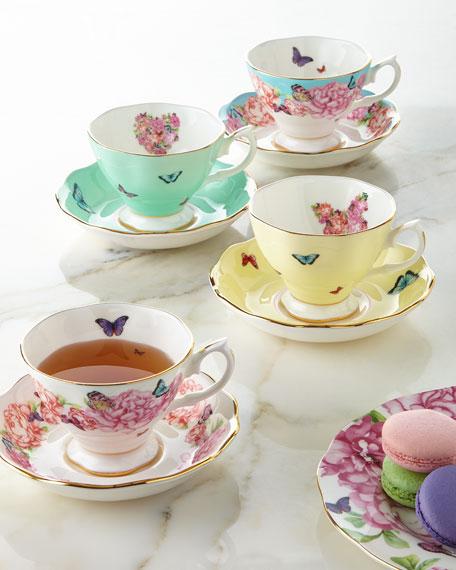 Miranda Kerr for Royal Albert Teacups & Saucers,
