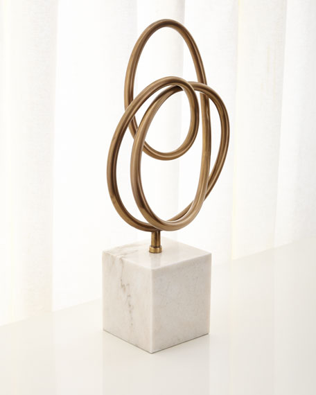 Interlude Home Boucle Knot Sculpture