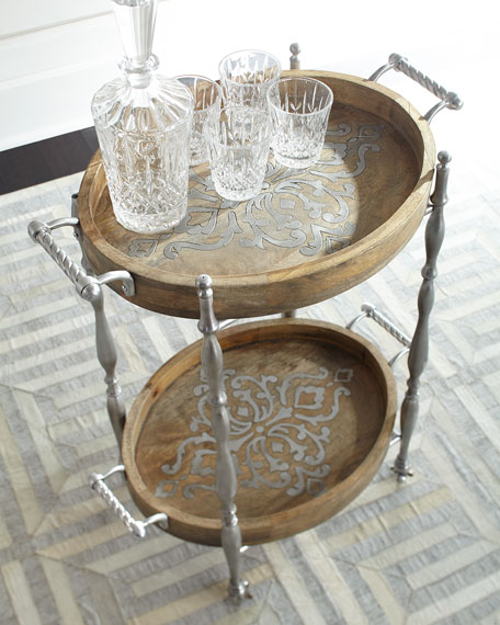 heritage bar cart - Gg Collection