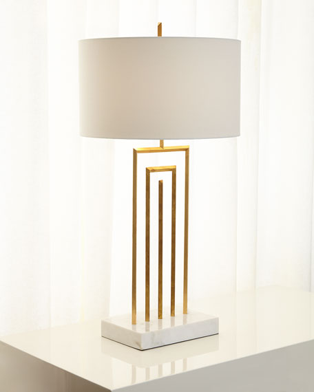 John-Richard Collection Labyrinth Table Lamp