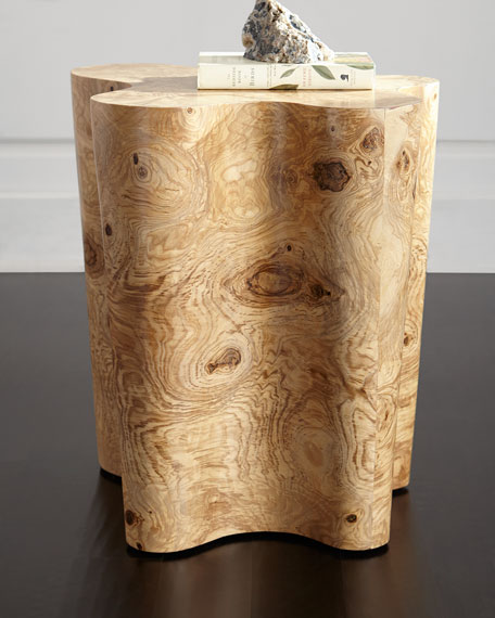 Palecek Nico Burl Side Table