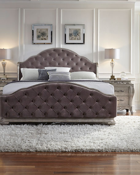 tufted bedroom furniture. Bella Terra Tufted King Bed Bedroom Furniture K