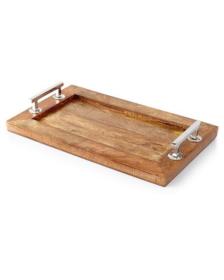 Godinger Rectangular Wood Tray