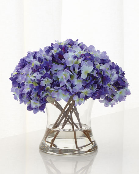 Purple Haze Faux-Floral Arrangement