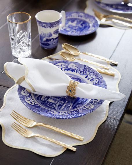 12-Piece Blue Italian Dinnerware Service