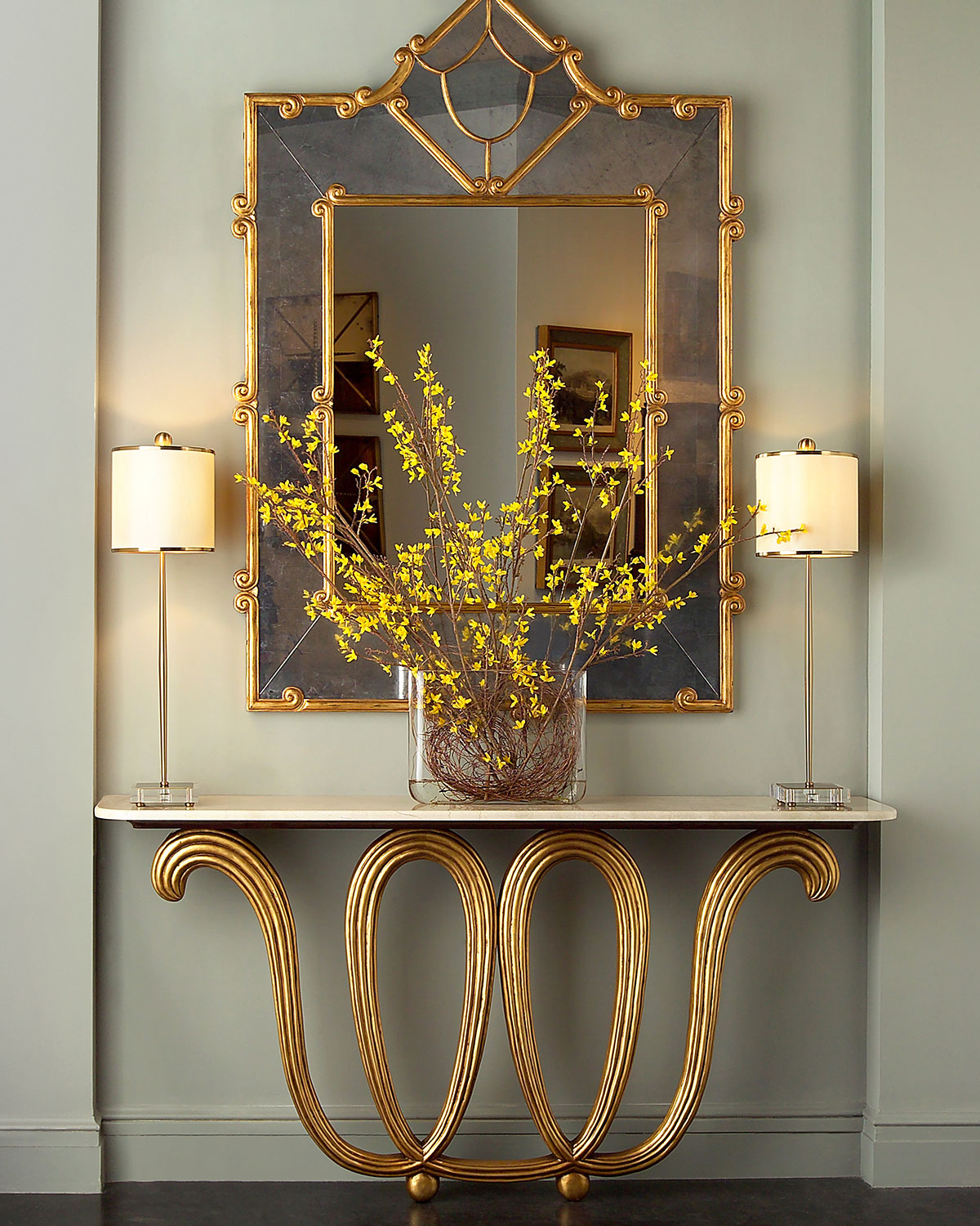 John Richard Collection Florence Wall Console