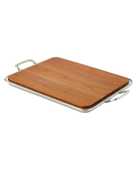 Large Cheese Tray with Handles